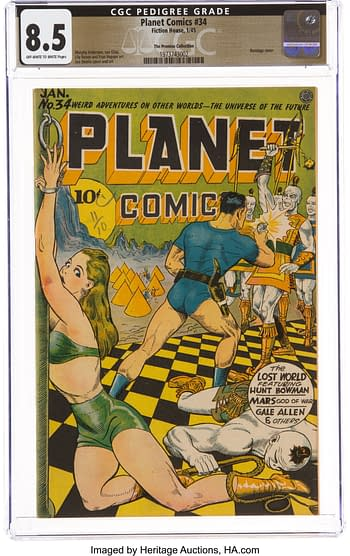 Planet Comics #35