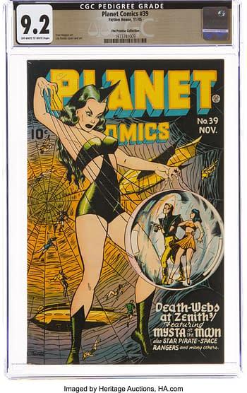 Planet Comics #39