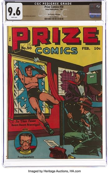 Prize Comics #50