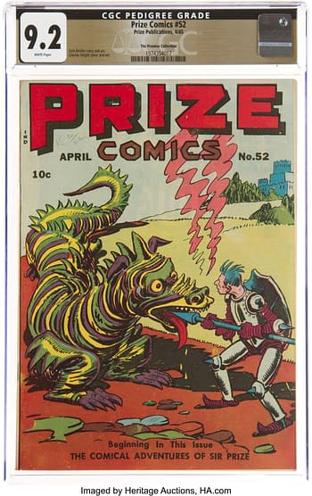 Prize Comics #52