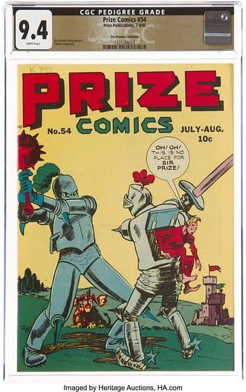 Prize Comics #54
