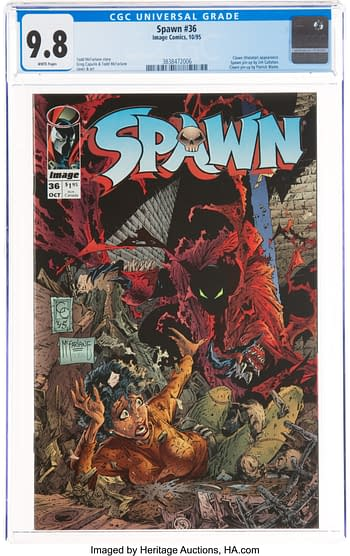 How High Will These Spawn CGC 9.8 Comics Go At Auction Today?