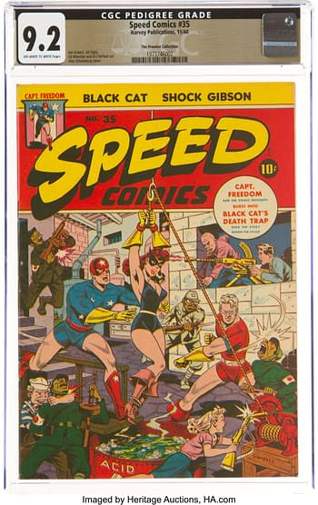 Speed Comics #35