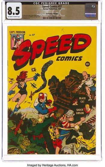 Speed Comics #37