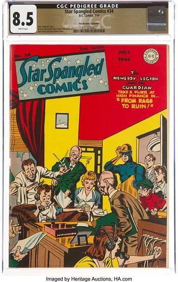 Star Spangled Comics #34