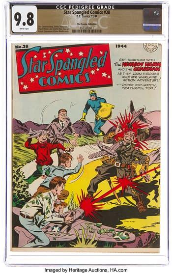 Star Spangled Comics #38