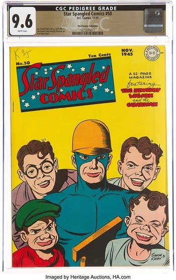 Star Spangled Comics #50