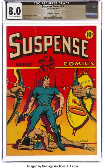 Suspense Comics #5