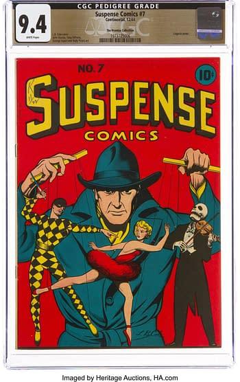 Suspense Comics #7