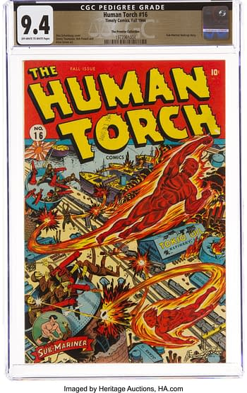 The Human Torch #16