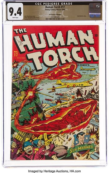 The Human Torch #17