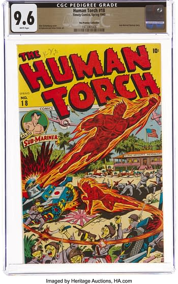 The Human Torch #18