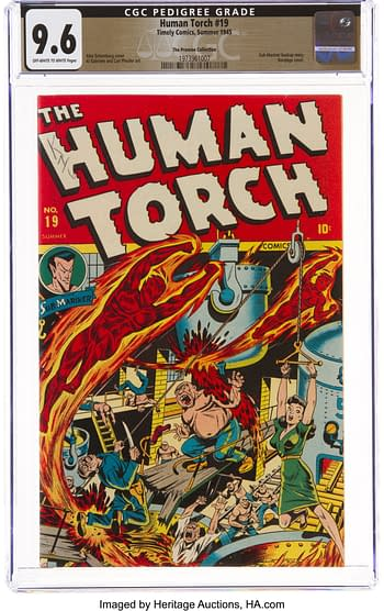 The Human Torch #19