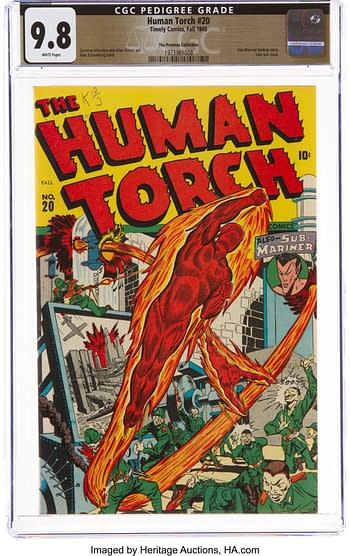 The Human Torch #20