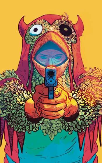 Cover image for CHICKEN DEVIL #1 CVR A HAYDEN SHERMAN