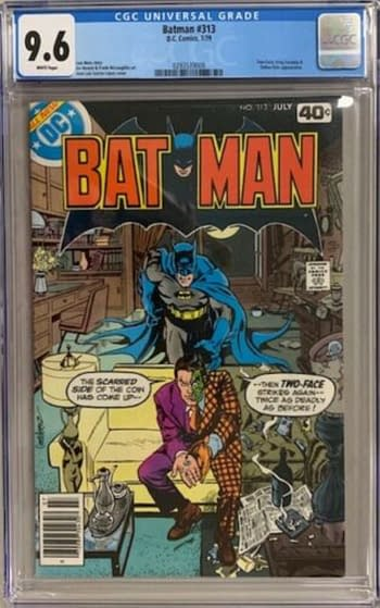 First Next Batman Tim Fox Appearance, Batman, #313 $500 Sale On eBay