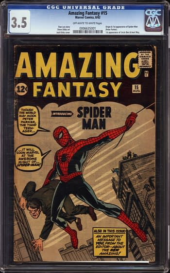 A Tale Of Five Amazing Fantasy #15 At Auction