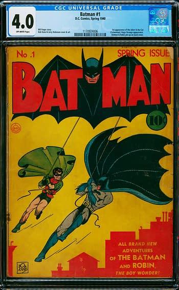 Batman #1 CGC 4.0