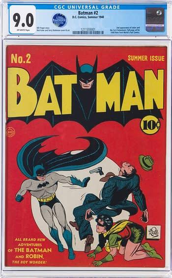 Batman #2 CGC 9.0