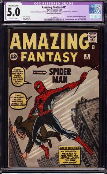 ComicConnect Auction