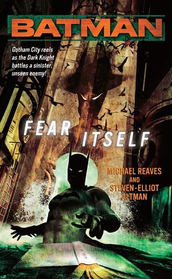 Batman Fear Itself Cover