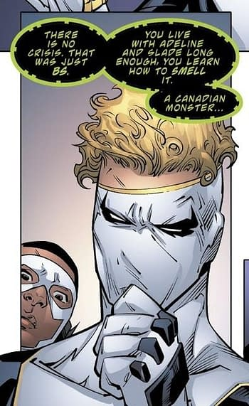 Is Jericho Playing Both Sides in Year Of The Villain? Or Did DC Make a Boo-Boo?