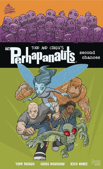 Cover image for PERHAPANAUTS SECOND CHANCES GN