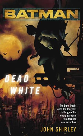 Batman Dead White Cover