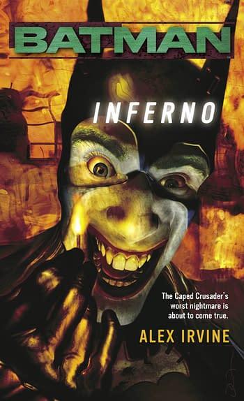 Batman Inferno Cover