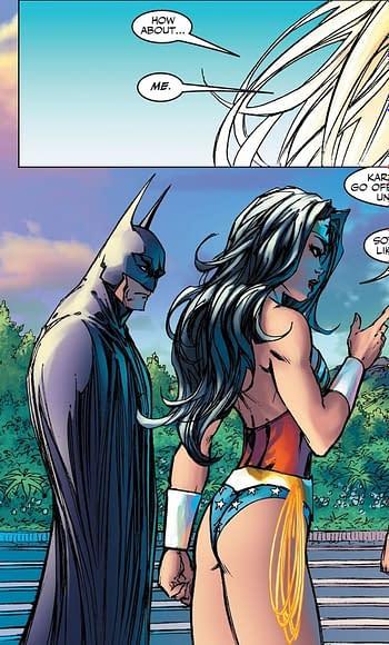 Walmart/DC Comics Censored Michael Turner's Artemis and Wonder Woman