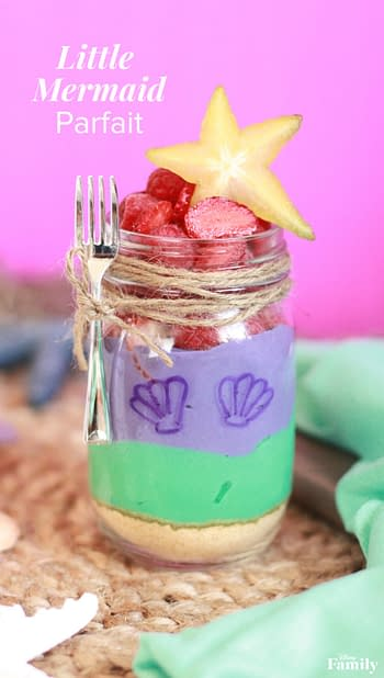 Nerd Food at Home: A Little Mermaid Parfait, Perfect for Every Merperson