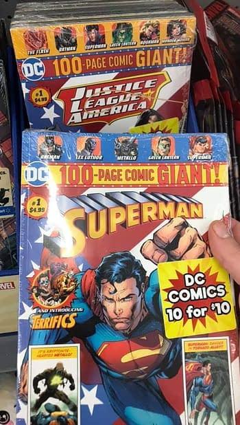 DC Comics Sell 10 Comics For $10 at Walmart