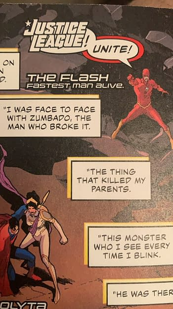 John Constantine Literally Rewrites the Plot of Justice League #63