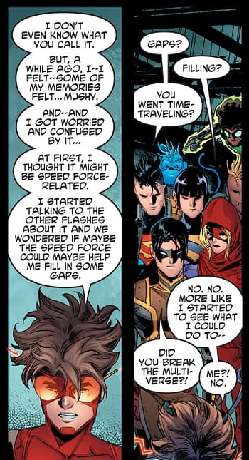 Death Metal and Young Justice Throw Exposition At The Many Crises.