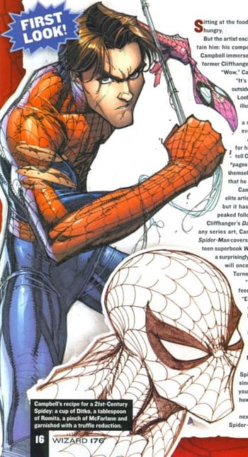 J Scott Campbell Has Finished Two Issues Of Spider-Man With Jeph Loeb