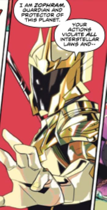 Mighty Morphin #1 Features Not One But Two First Appearances