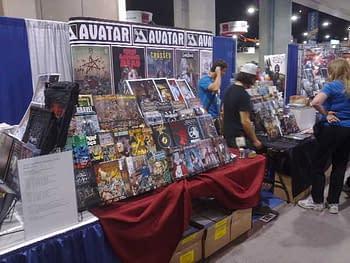 Runaround San Diego Comic Con 2010 During Set Up