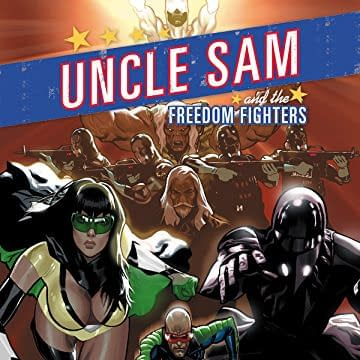 Uncle Sam and the Freedom Fighters art by Daniel Acuna