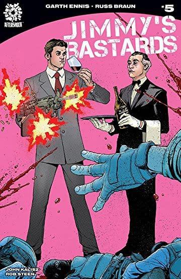 Jimmy's Bastards #5 cover by Andy Clarke and Jose Villarruba