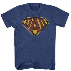 DC Comics Vs. Mad Engine Over SuperDad T-Shirt Design