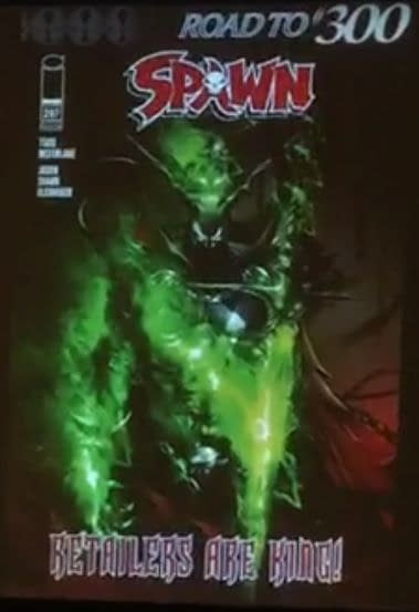 Scott Snyder, Greg Capullo, J Scott Campbell, Jerome Opena, Jason Shaw Alexander Join Spawn #300 With Todd McFarlane Drawing (Video)