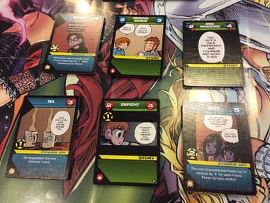 Discovering The Power Of Cards We Review Scott Pilgrim S Precious Little Card Game