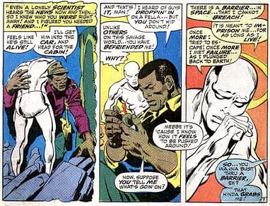 Readers Criticise Marvel Comics For Shoe-Horning Racial Politics Into Silver  Surfer