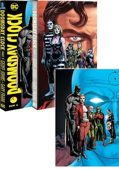 Doomsday Clock Slipcase Free With Vol 2 Only In Comic Book Stores