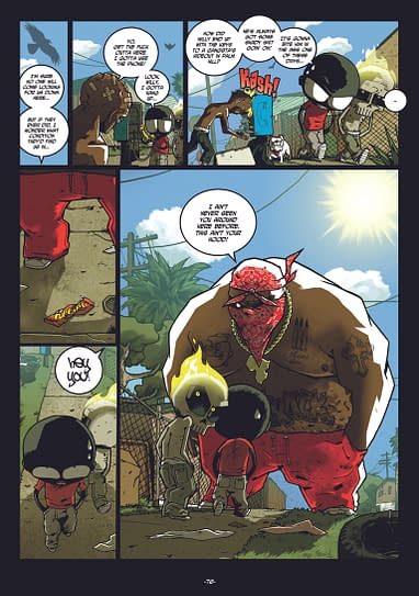 Trailer For Mutafukaz From Titan Comics Video
