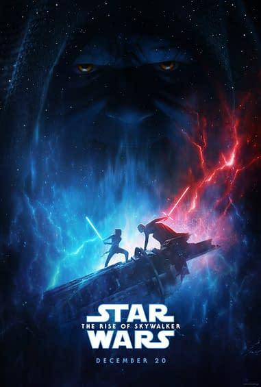 Star Wars Rise Of Skywalker Poster Released At D23