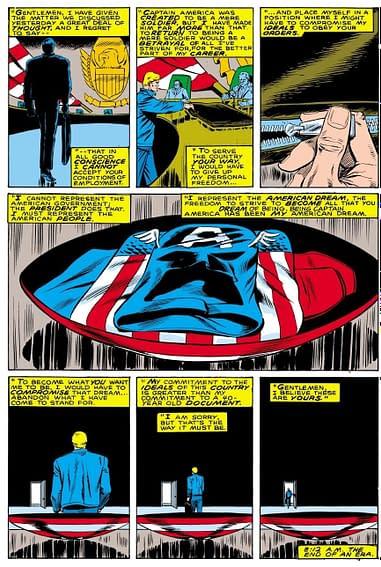 Captain America No More Again 7 Spoilers
