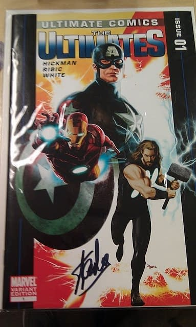 How To Find The Stan Lee-Signed Ultimates #1