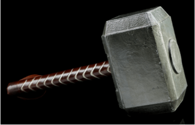 Are You Worthy? Mjolnir From The First Thor Movie Goes Under The Hammer