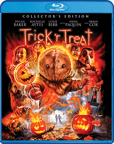 Trick or Treat Scream Factory Blu Ray Cover